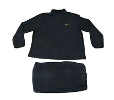 Vtg 90s Nautica Competition Men's Large Spell Out Fleece Sweatshirt Pants Mens L