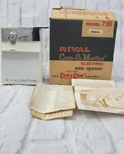 Vintage Rival Can-O-Matic Electric Can Opener 730 White Replacement Base