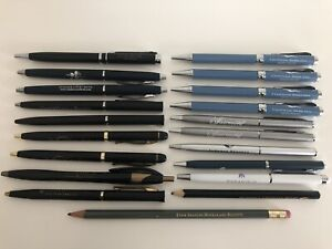 Travel Collectable ballpoint Pens 6 Marriott Branded Hotel