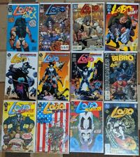 Lobo 12 Comic Lot: Infanticide, Unamerican Gladiators, BIBBO, DEMON, Bisley ☠️