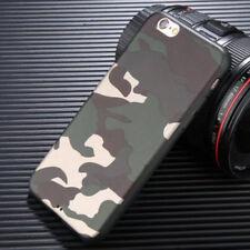 Cover Apple IPHONE 6/6S MIMETICA Militare Morbida Custodia Silicone Camouflage