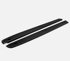 For Chevy Silverado 2500 HD 07-14 BlackTread Side Bed Wrap Caps w Stake Holes BB