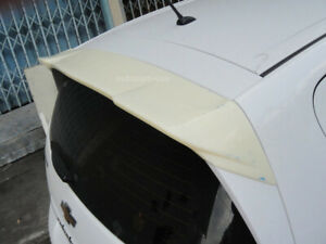 FIT CHEVROLET SONIC HATCHBACK 2013-2016 ROOF SPOILER WING ABS UNPAINTED