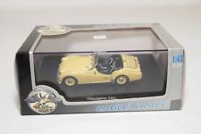 * UNIVERSAL HOBBIES TRIUMPH TR3 CONVERTIBLE YELLOW MINT BOXED