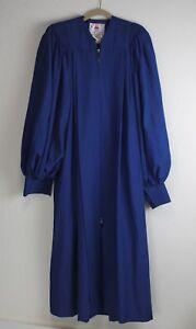 Choir Robe Size 9 Navy Blue Murphy Anthem C-63 Gown Church Singing Costume