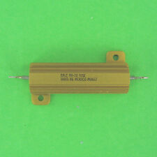 Dale 100 Ohm 50W 1% Power Resistor Aluminum Heat Sink Axial Panel Chassis Mount