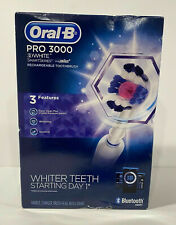 Oral-B Pro 3000 3D White Smart Series Bluetooth Electric Toothbrush - New in Box