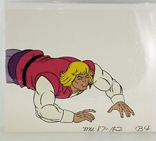 He-Man Masters of the Universe Original Animation filmation Cel Prince Adam B4