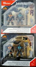 HALO MEGA CONSTRUX BRUTE WEAPONS CUSTOMIZER PACK DXR57 LOT OF TWO MIP MINIFIGS