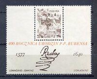 36097) Poland 1977 MNH Peter Paul Rubens S/S Scott #B134