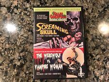 Screaming Skull/The Werewolf Vs. Vampire Woman Dvd! 1958/1971 Horror!