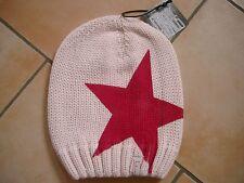 (M68) Grobstrick Mütze FREAKY HEADS Beanie Wintermütze Big Star Druck & Aufnäher