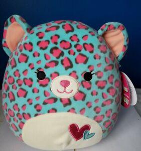 "Squishmallow 11"" ~Chelsea the Cheetah 2021 Valentine Plush ~SO CUTE & SOFT! NEW!"