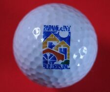 Pelota de golf con logo-Paramount Builders Inc./Kenwood Associates-golf logotipo Ball