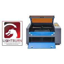 60w Co2 Laser Engraving Engraver Cutting Machine 60x40cm Lightburn Software