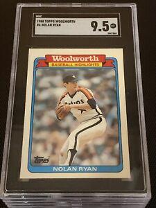 1988 Topps Woolworth Nolan Ryan #6 SGC 9.5