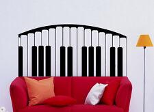 Music Wall Decal Vinyl Sticker Music Notes piano Keys Interior Art Decor (33mu)