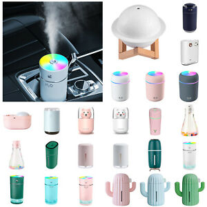 Aroma Aromatherapy Diffuser USB Essential Oil Ultrasonic Air Humidifier Purifier