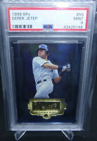1999 Upper Deck SPx Derek Jeter Graded PSA 9 Mint New York Yankees HOF