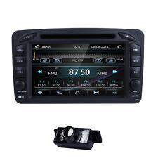 "2Din Auto Radio 7"" Stereo DVD Car GPS BT for Mercedes Benz C-W203 CLK-Class W209"