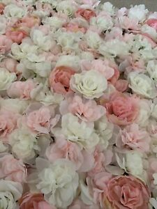 artificial flower wall panels approx size  x4 15.5x23.5 used but I good conditio