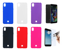 """Case Cover Gel TPU Silicone For LG K20 (4G) 5.45"""" + Optional Protector"""