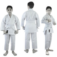 VERUS white kid karate suit karate uniform kids Adult TKD Gi Martial Arts W