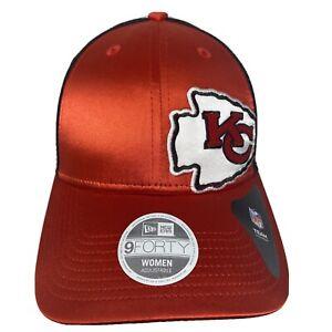 Womens New Era KANSAS CITY CHIEFS 9Forty 940 Meshback Snapback Hat Cap