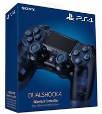 PS4 DualShock 4 Wireless 500-Million Limited Edition Controller Translucent Blue