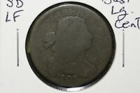 1803 Draped Bust Large Cent, Small Date, Large Fraction, Good