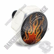 Polished Billet Hex Air Cleaner Cover Bolt Twin Cam Touring - HOT ROD FLAME