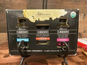 SW Basics Starter Mini Kit 3 Ingredients Cleanser Cream Toner Organic Rosewater