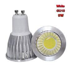 2PCS 9W GU10 85-265V COB Spot down light LED lamp bulb White bright