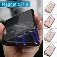 360° Magnetic Absorption Phone Case For iPhone 11 Pro Max Tempered Glass Cover