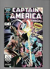 Captain America KS Annual 8 Wolverine 1st app TESS-One Overrider Mike Zeck