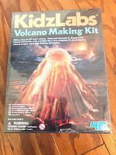 New 4M KidzLabs Volcano Making Kit