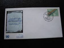 NATIONS-UNIES (new-york) - enveloppe 1er jour 30/1/1981 (B4) united nations