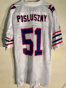 Reebok NFL Jersey BUFFALO Bills Paul Posluszny White retro sz M