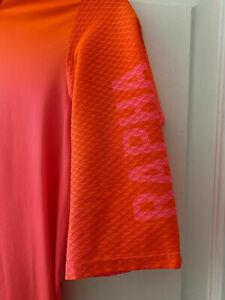 Rapha pro team short sleeve cycling jersey aero colorburn orange A+++ Shape! lrg