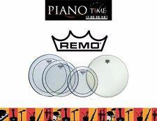 "Remo Drum Head Pack-Pinstripe Rock Skins 12"", 13"", 16"" +14"" Amb (PP-0320-PS)"