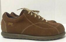 Camper Pelotas Ariel Casual Shoes Brown Suede Mens Size EU44/US10