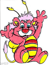 "11"" WUZZLES BUMBLELION  VINTAGE  CHARACTER FABRIC APPLIQUE IRON ON"