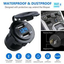 presa accendisigari tester per batterie Ndier LED digitale Voltmetro per auto 12 V//24 V