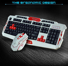 CityForm HK8100 Wireless Multimedia Gaming Keyboard + 2.4GHz 6 Buttons Mouse Set