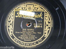 78 RPM Deanna Durbin Ave Maria/HOME SWEET HOME