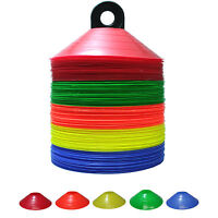 50 QTY NEW Low Profile Soccer Field Marking Coaching Disc Cones
