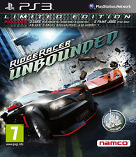 Ridge Racer Unbounded PS3 *in Excellent Condition*