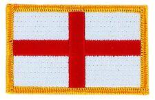 Toppe Toppa PATCH INGHILTERRA 7x4,5cm Bandiera  banderina ricamata termoadesivo