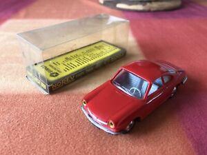 NOREV Ancien 1/43 Coupé SIMCA 1000 N*73 Rouge avec boite