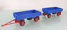 H0 s.e.s / 14 1808 13: Landwirt. Hänger E5 mit Stahlpritsche blau